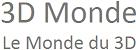 logo 3D Monde